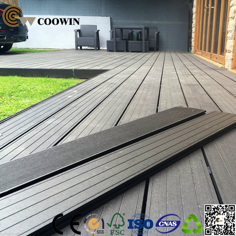 rot proof stain resistant waterproof composite decking board