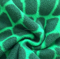 anti pilling micro polar fleece fabric clothing fabric