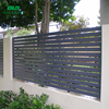 electric prefab fence panels with post driver
