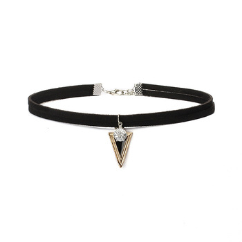 2017 New Arrival Velvet Pearl Choker For Women