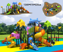 Customize small international little kids kids large plastic playgrounds