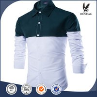 unbranded clothing gents dresses green collar shirt