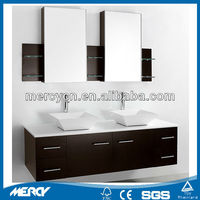 Bathroom Double Vanity Top Ceramic Basin Made in China Bathroom Double Vanity Top