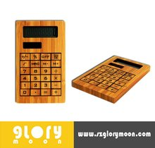 ECO BAMBOO 8-DIGIT SOLAR DESKTOP CALCULATOR