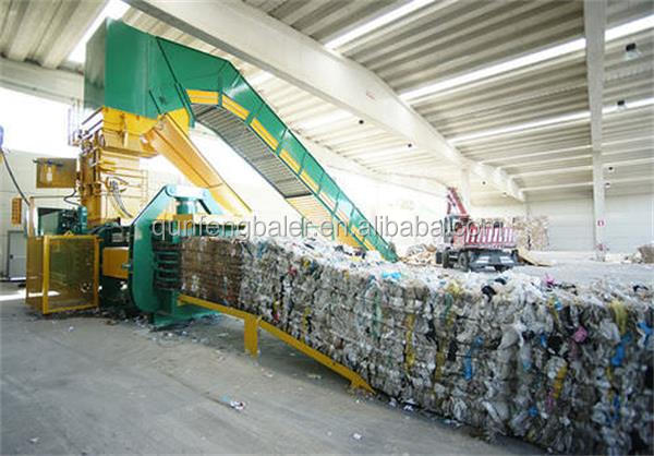 FDY Horizontal Hydraulic Press Bale Machine for scrap paper ,cardboard, PET,tyre,cans