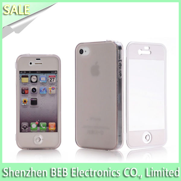 Featured tpu bumper for iphone4 has 100% quality guarantee
