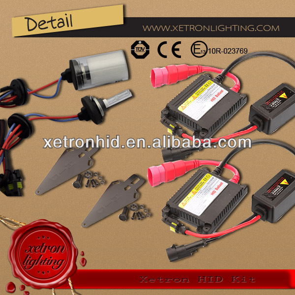 High Quality Extreme HID Conversion Kit CE Ballast H1 Hydrogen hho Generator Kit