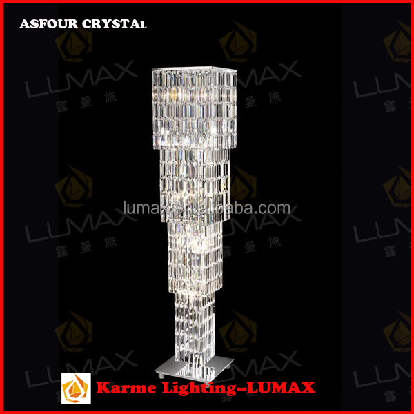 Elegant modern lava lamp crystal lighting asfour total crystal floor light standing lamp