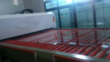 horizonal toughened glass machine