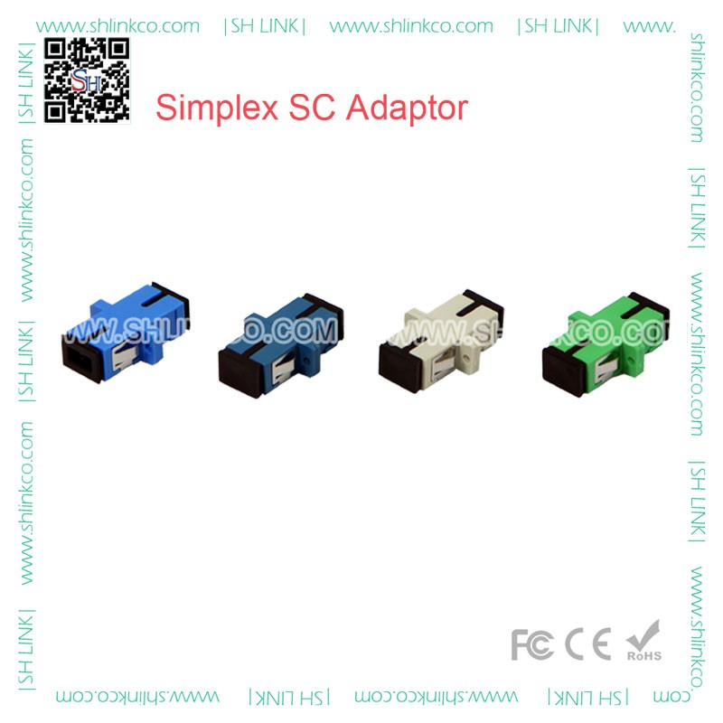 Factory supply SC/FC/ST/LC/MU/E2000/MTRJ fiber optic adapter