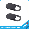 Jietron New Black Webcam Cover for Smartphones/ipad/laptop pack of 1 pcs in one blister card packaging