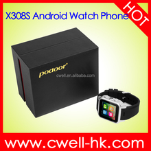 hand watch mobile phone price Smart X308S 1.54 Inch IPS Screen Aluminum Alloy Body 3G OS
