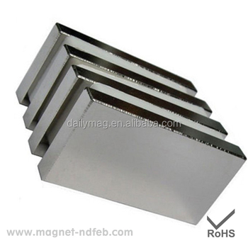 Large Block Sintered Permanent Strong NdFeB Magnet