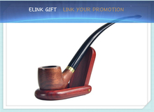 durable fancy gift wooden tobacco pipes smoking pipes