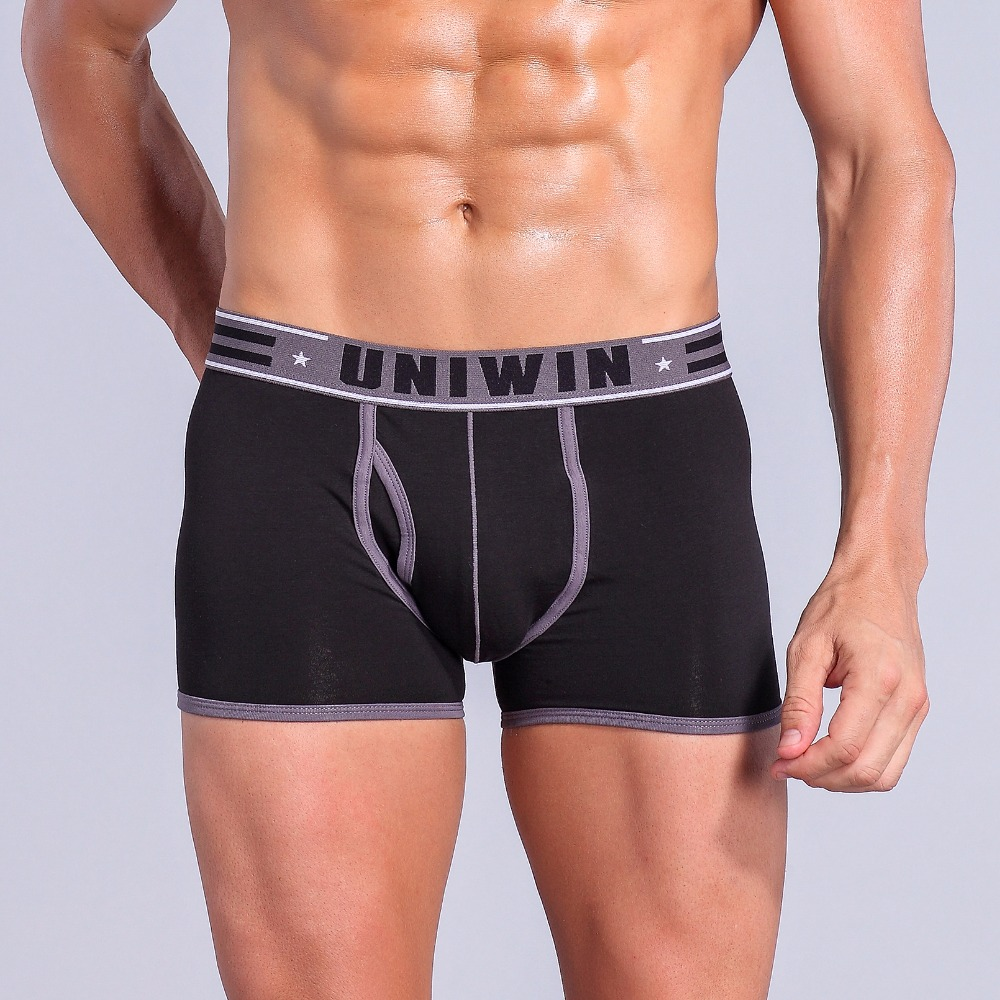 Black sexy underwear for men boxer shorts new mens boxer briefs