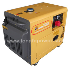 7KVA 220V Three Phase Silent Generator Diesel For South Africa market