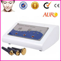 (Au-8206) Best price 3 heads ultrasound facial physiotherapy skin tighten machine