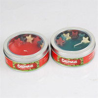 Chistmas Scented Candle In Tin Box
