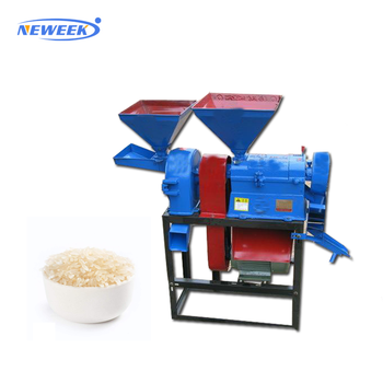NEWEEK with crushing function  paddy rice skin removing machine
