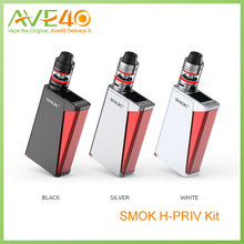 100% Original 220W SMOK H-PRIV TC Kit with Micro TFV4 Tank and Cool Fire Key Design