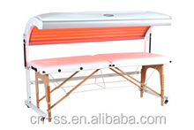 Home use portable lying tanning bed for your best choice