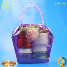 Pvc for ladies oem bags carry cheap women hand bag