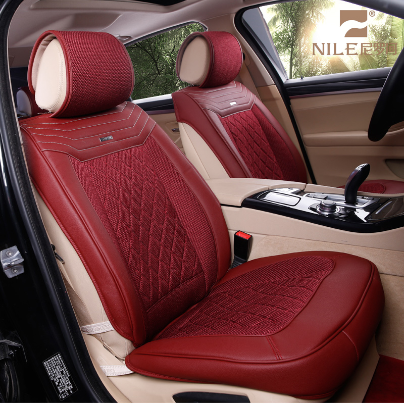 Well fit Sponge Genuine Leather Car Seat Cover for Accessories Hyundai Sonata/Toyota