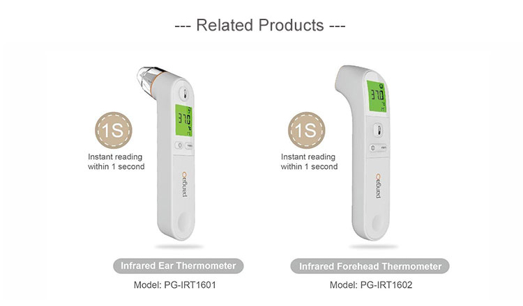 Instant Read Medical Digital Non-contact Digital Infrared Thermometer Functions and Uses