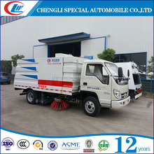 street sweeper road sweeping truck