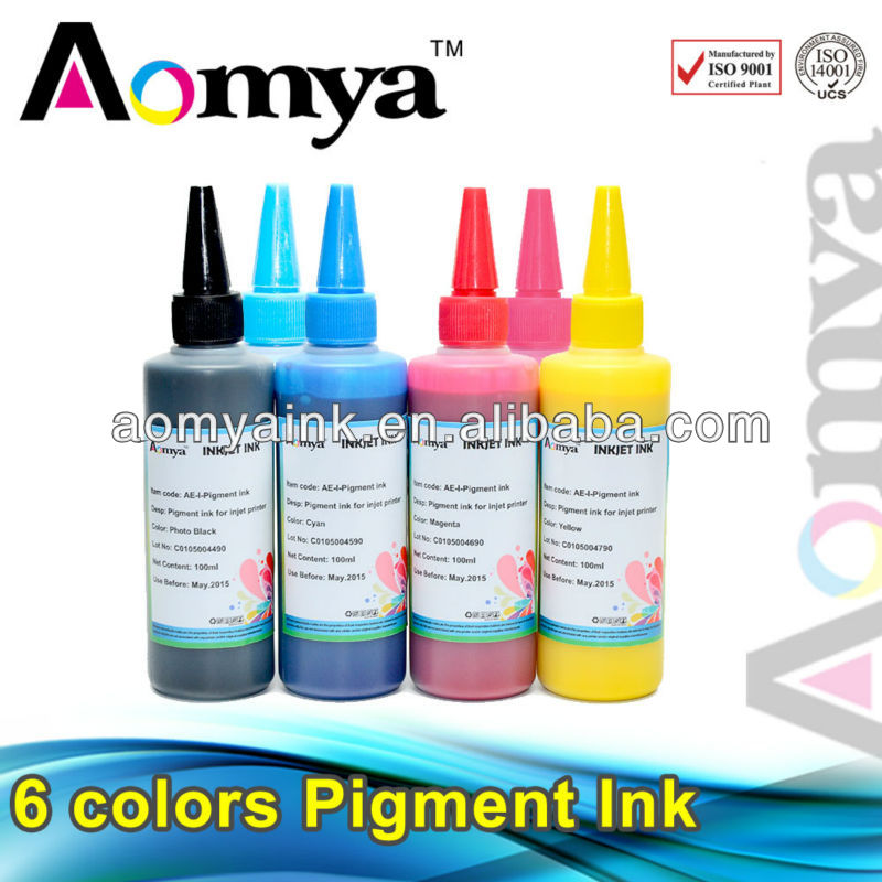 Aomya Pigments for printing inks for digital printing