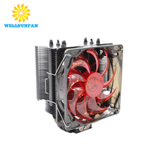 Computer micro cooling fan 12v brushless computer aluminum radiator 120mm cpu cooler