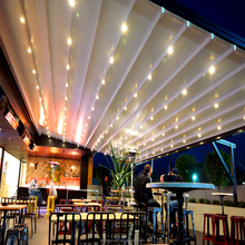 Low price customized aluminum retractable roof