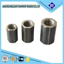 good quality threaded rebar splicing coupler for building material in China