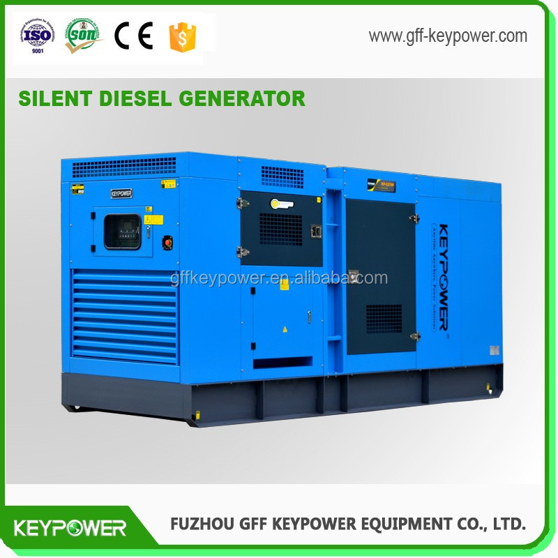 KEYPOWER 160kw 200kva Silent Type Diesel Generator Power by Reliable Engine online for Sale