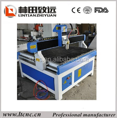 small wood cnc advertising machine lathe with ce fda
