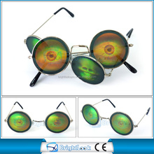 Fashionable Trend Vintage round shape frame lens with devil pattern(BSM3981)