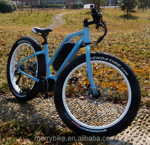 Best motorized bicycles where to buy electric mountain bike step through ebike with 4.0inch fat tire and mid drive motor