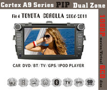 Fit for Toyota COROLLA 2006-2011 1080P BT TV GPS IPOD car dvd car radio with gps