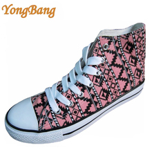 brand new style action girls high cut canvas shoes sneakers