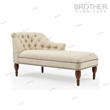 Modern upholstery furniture fabric covered wedding hotel lounge sofa