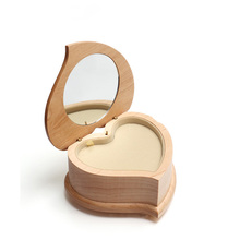 Nice luxury small wooden packing wedding ring box