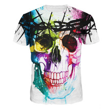 Aliexpress Cartoon Characters 3D T-shirts Men Digital Print Men's Casual Shirts For Man