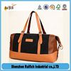 New arrival leather weekend bag,leather gym bag,pu leahter duffel bag