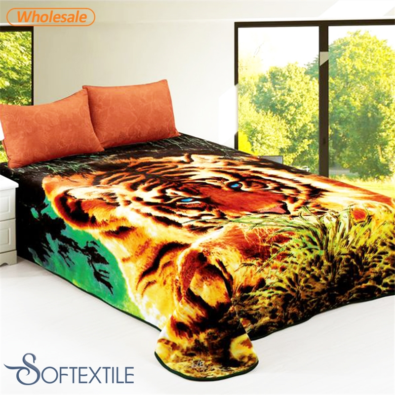 cheap super soft comfortable Foldable wholesale signature fleece blankets