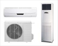 solar power air conditioner split unit 18000Btu floor standing split type