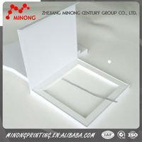 Wholesale best price card folding white paper box