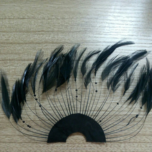 Chinese supplier hot sale beautiful chicken feather for party carnival costumes decoration