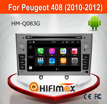 Hifimax Andriod 7.1 Car GPS Navigation System For Peugeot 408 (2010-2012) With Quad Core 1080P WIFI 3G INTERNET DVR