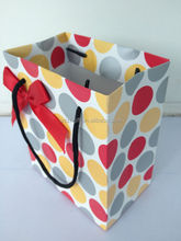 High quality Paper Gift Box with hand line