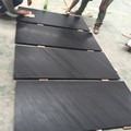 Honed black lake marble